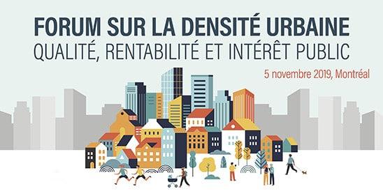 forum sur la densité urbaine