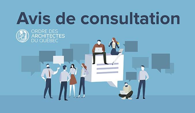 Avis de consultation
