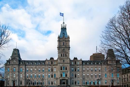 Hôtel du Parlement à Québec