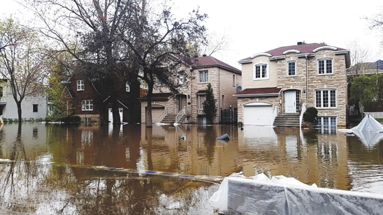 Inondations Montréal 2017