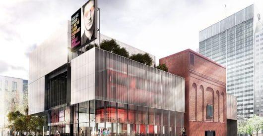 Concours d'architecture du TNM : Saucier + Perrotte architectes lauréats