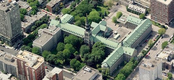 Pavillon des Soeurs Grises de l'Université Concordia, Montréal, conversion par Lapointe Magne & associés Photo : Michel Brunelle