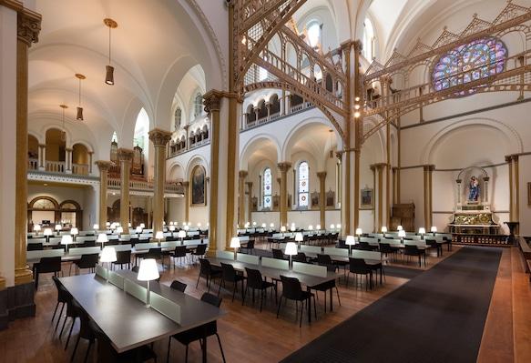 Pavillon des Soeurs Grises de l'Université Concordia, Montréal, conversion par Lapointe Magne & associés. Photo : Michel Brunelle