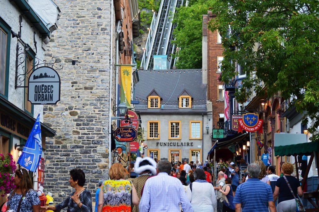 Le Vieux-Québec Photo : Pixabay