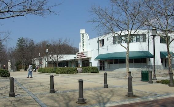 Centre commercial  Roosevelt Center, Greenbelt. Photo : Isabelle Gournay