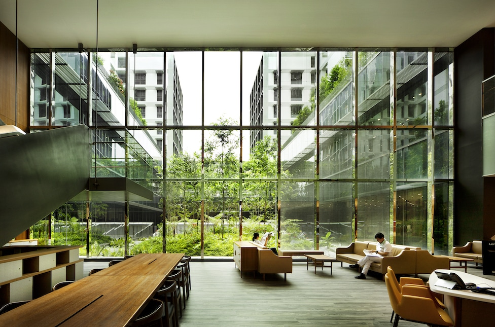 Kampung Admiralty, Singapour, WOHA Architects Photo : Patrick Bingham-Hall