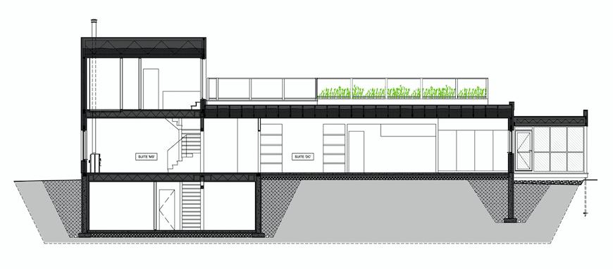 DCMS, Stoneham-et-Tewkesbury, TERGOS Architecture + Construction Image : TERGOS Architecture + Construction