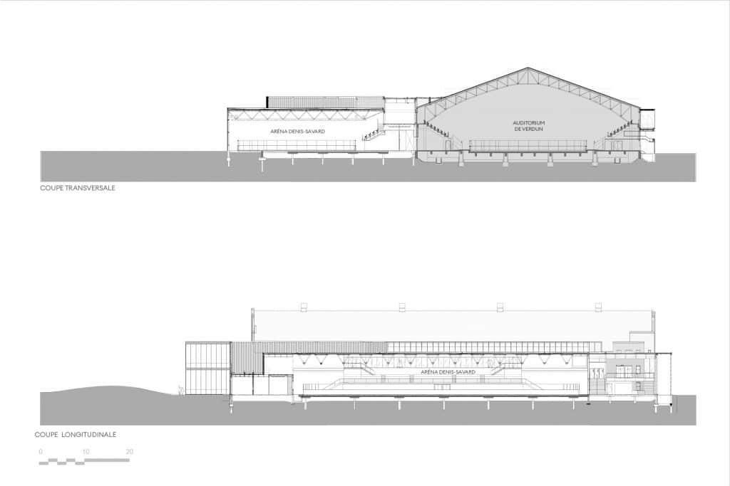 Auditorium de Verdun, Montréal, Les architectes FABG. Image : Les architectes FABG
