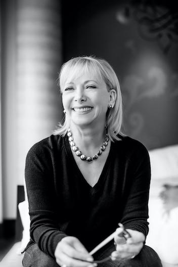 Christiane Germain, coprésidente de Germain Hôtels. Photo : Germain Hôtels