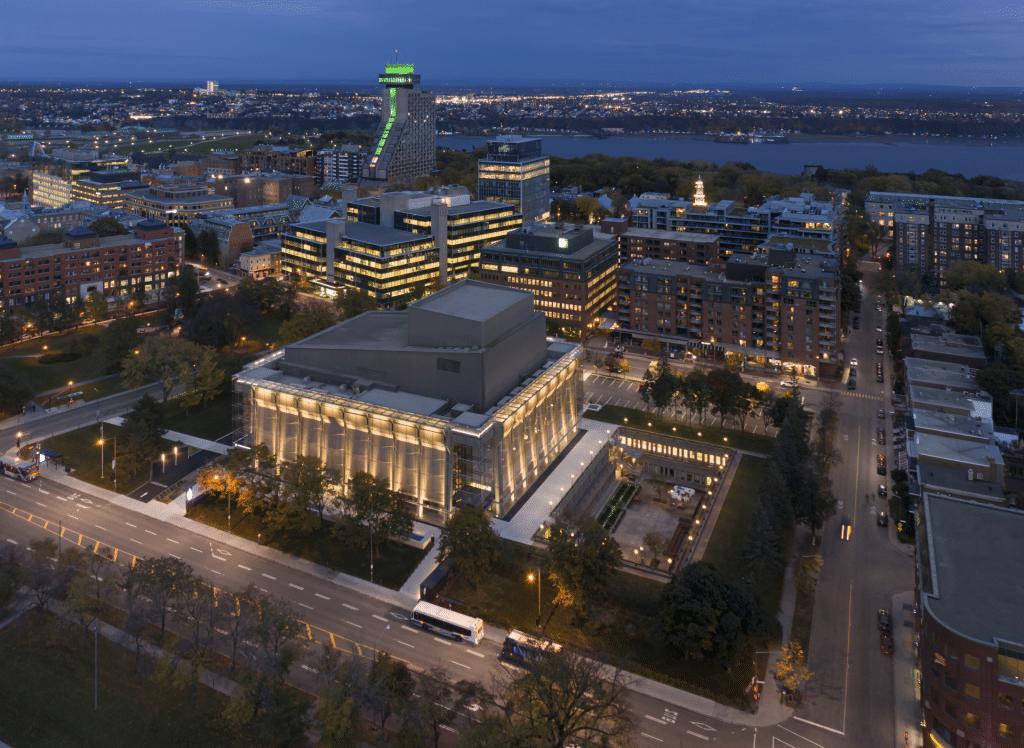 Grand Théâtre de Québec, Lemay et Atelier 21. Photo : Stéphane Groleau