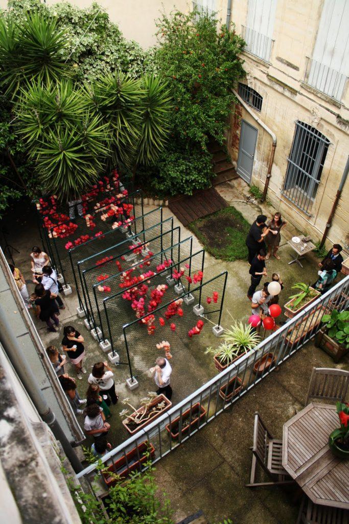Ma cour dans ta cour, Festival des Architectures Vives de Montpellier, PLUX.5. Photo : PLUX.5