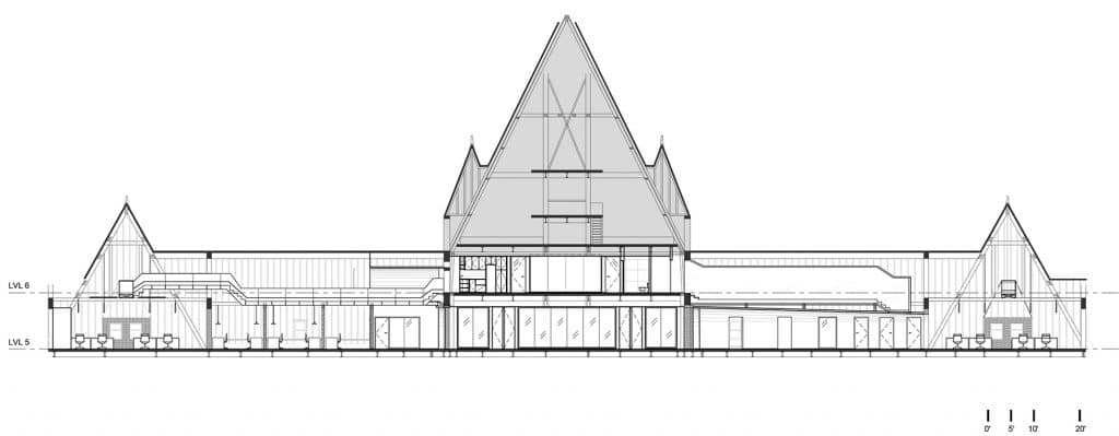 Lightspeed phase 3, Montréal, ACDF Architecture. Image : ACDF Architecture