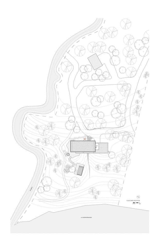 Les blocs de bois, Austin, Yiacouvakis Hamelin architectes_ yh2. Image : Yiacouvakis Hamelin architectes_ yh2