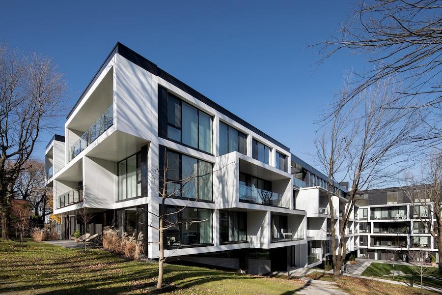 Maisons Outremont, Montréal, ACDF Architecture. Photo : Adrien Williams