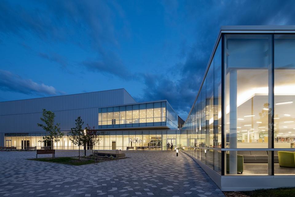Pôle culturel de Chambly, Atelier TAG et Jodoin Lamarre Pratte architectes. Photo : Adrien Williams
