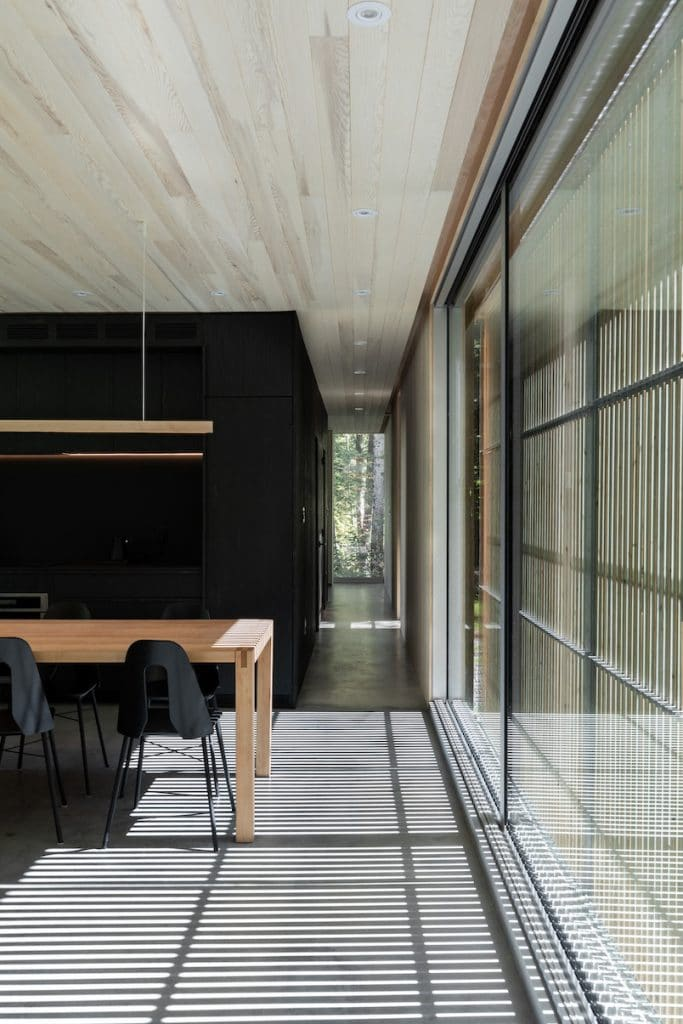 hinterhouse, La Conception, Ménard Dworkind architecture & design. Photo : David Dworkind